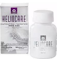 HELIOCARE PUREWHITE 60 cap. Indicado como complemento antioxidante a los tratamientos de despigmentación. Reduce la aparición de hiperpigmentación y tono de piel desigual