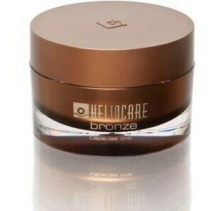 HELIOCARE BRONZE  complemento con activos que estimulan e intensifican un bronceado saludable, más bello, luminoso y protegiendo su piel.
