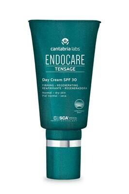 ENDOCARE TENSAGE Day Cream SPF30.  Redensificante, antiarrugas con triple acción reafirmante que protege la piel frente a la radiación solar