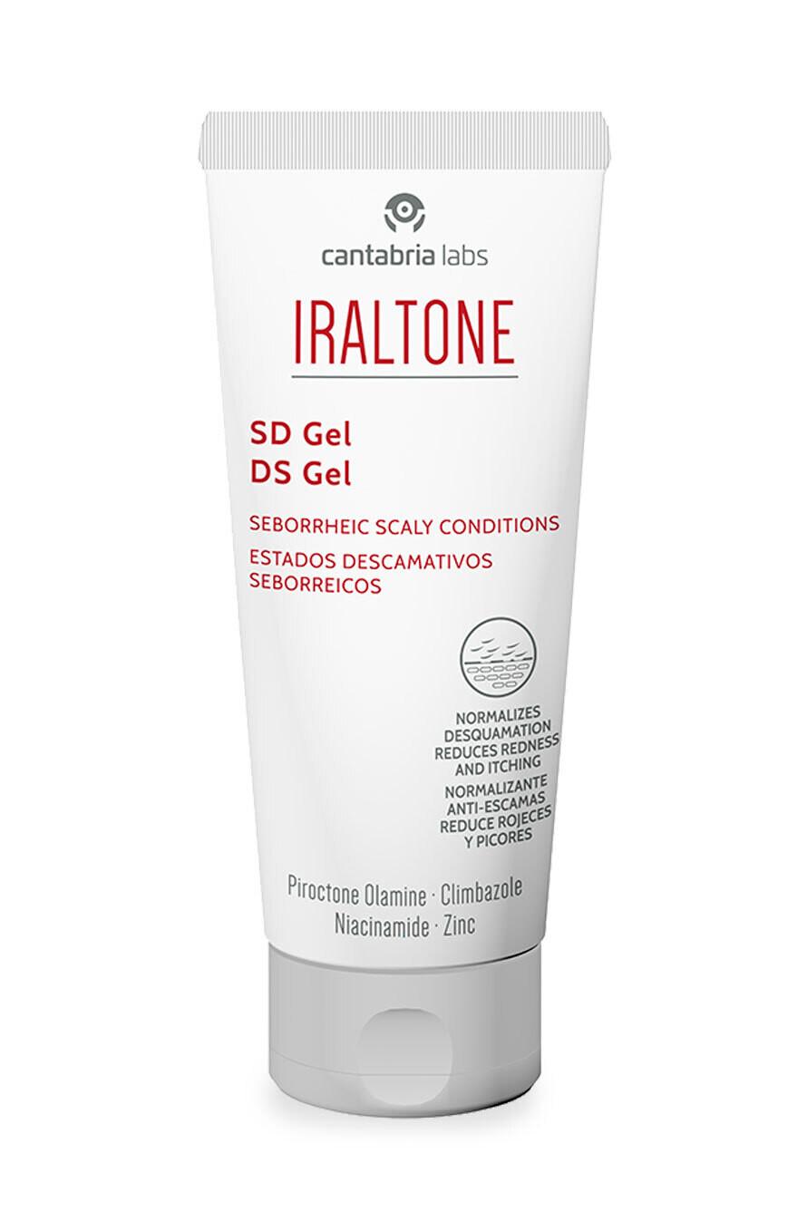 IRALTONE SD GELCREAM 50ml Reduce la descamación, las rojeces y el picor facial.
