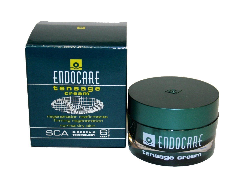 ENDOCARE Tensage Cream. De textura ultrafundente. Pieles normales a secas. Potente efecto tensor y regenerador.