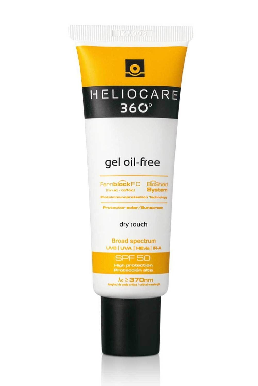 HELIOCARE 360 Gel Oil Free.  SPF50.  50ml. UVB, UVA, IR-A y Luz Azul.