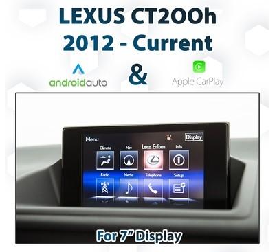 [2012+] Lexus CT200h - Apple CarPlay & Android Auto Integration