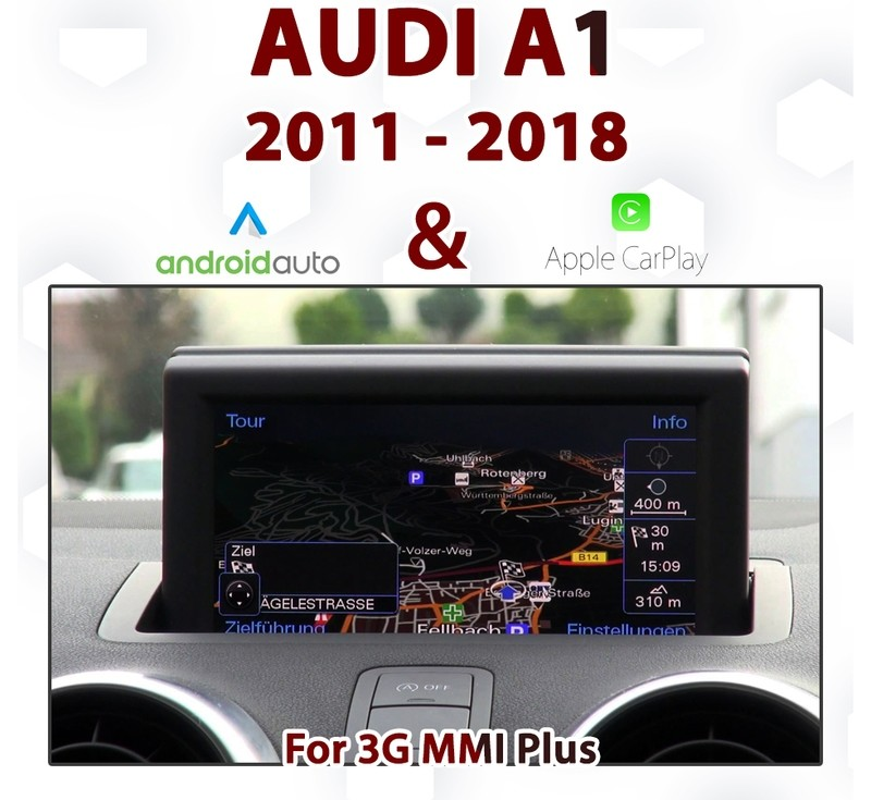 [TOUCH] Android Auto & Apple CarPlay Integration pack for Audi A1 from 2011 to 2018