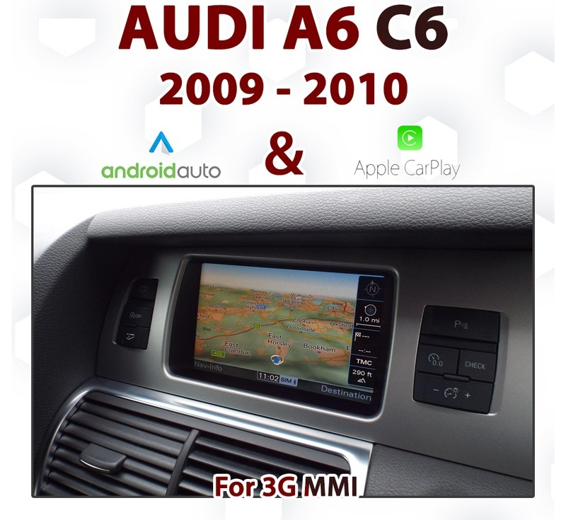 [TOUCH] 2009 - 2010 Audi A6 C6 / Touch Apple CarPlay & Android auto Integration