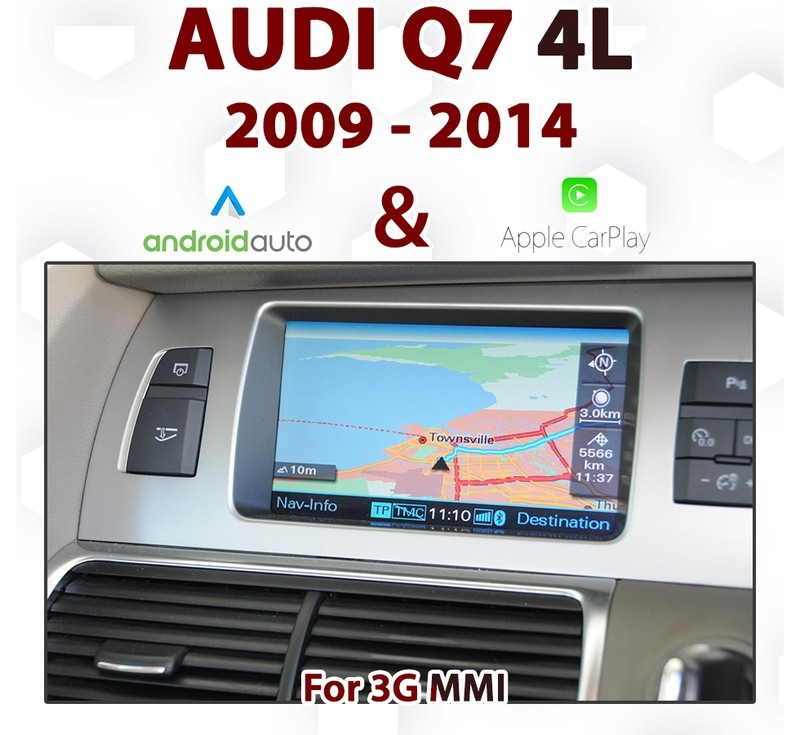 [TOUCH] Android Auto & Apple CarPlay Integration for Audi Q7 4L from 2009 to 2014, with 3G MMi