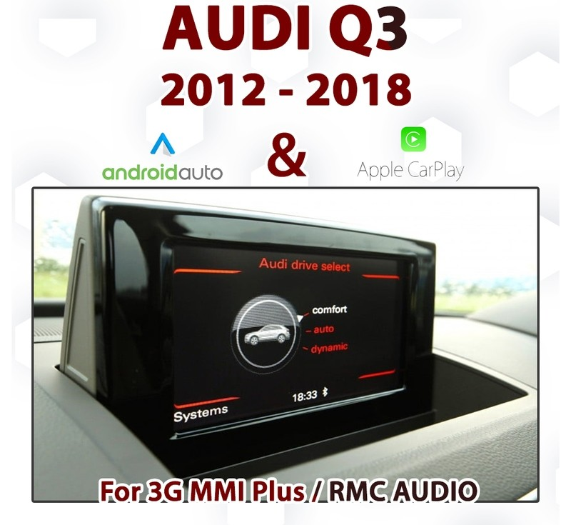 [TOUCH] Apple CarPlay for Audi Q3 3G MMi Audio Equipped from 2011 to Current