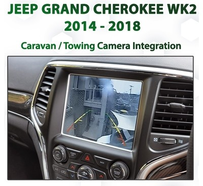 [MY14-18] Jeep Grand Cherokee WK2 UConnect 8.4 - Tow / Caravan Camera Integration