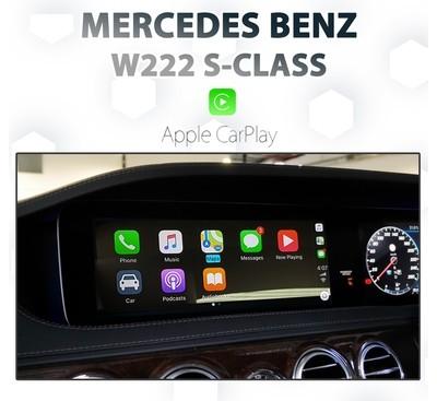 Mercedes Benz W222 S-CLASS Apple CarPlay Integration