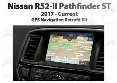[2017 - Current ] Nissan R52 Series II Pathfinder - GPS Navigation Integration Kit