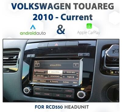 Volkswagen Touareg 7P 2010 - Current : Apple CarPlay & Android Auto Integration on RCD550 Audio