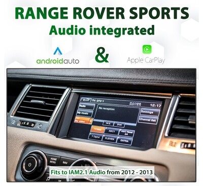 Range Rover Sports 2011 - 2013 Factory Audio Integrated Android Auto & Apple CarPlay Package Kit