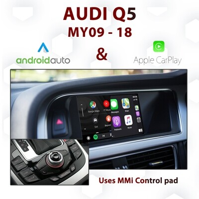 [DIAL] Android Auto & Apple CarPlay for Audi Q5 3G MMi - Uses MMi control pad