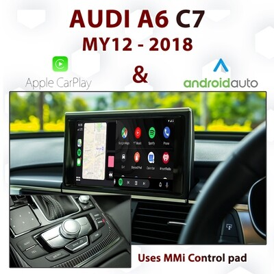 [DIAL] Apple CarPlay & Android Auto for Audi A6 C7 - Uses MMi control pad