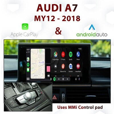 [DIAL] Apple CarPlay & Android Auto for Audi A7 - Uses MMi control pad