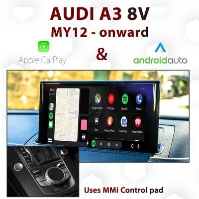 [DIAL] Apple CarPlay & Android Auto - Audi A3 8V