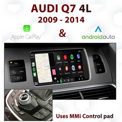 [DIAL] Android Auto & Apple CarPlay for Audi Q7 3G MMi - Uses MMi control pad