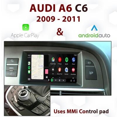 [DIAL] Android Auto & Apple CarPlay for Audi A6 C6 3G MMi - Uses MMi control pad