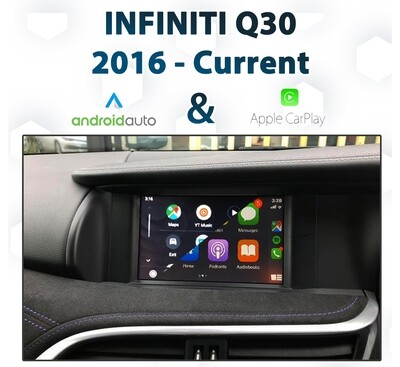 Infiniti Q30 2016 - 2019 Android Auto & Apple CarPlay Integration