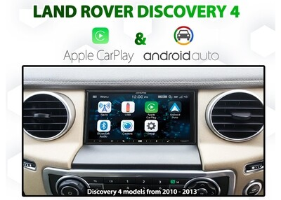 [2010 - 2013] Land Rover Discovery 4 - Small Screen conversion service - CarPlay / Android Auto Headunit