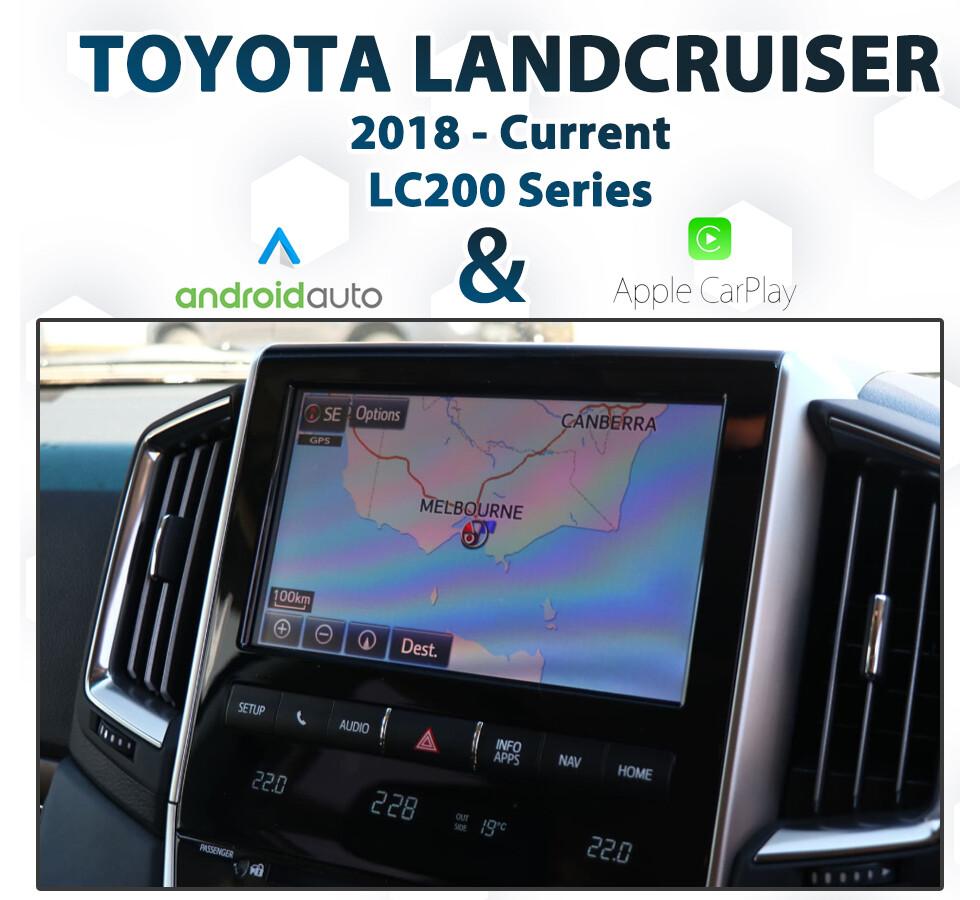 [2019-Onward] Toyota Landcruiser LC200 - Apple CarPlay & Android Auto Integration