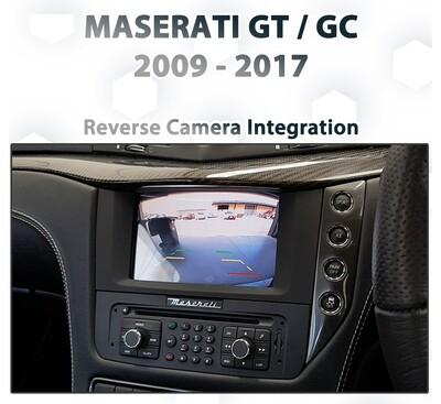Maserati GranTurismo / GranCabrio - Reverse Camera Integration