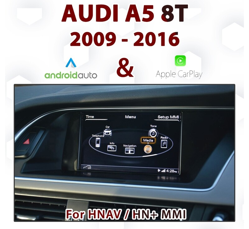 [TOUCH] Android Auto & Apple CarPlay Integration - For Audi A5 8T  3G MMi Audio