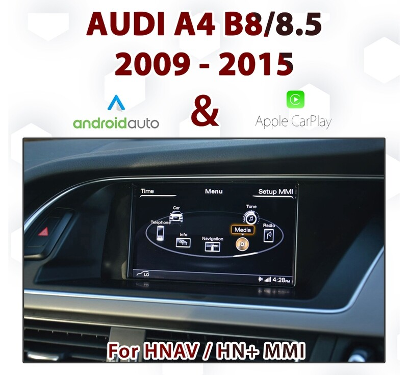 [TOUCH] Audi A4 B8 /8.5 3G MMi - Touch Apple CarPlay & Android Auto Integration
