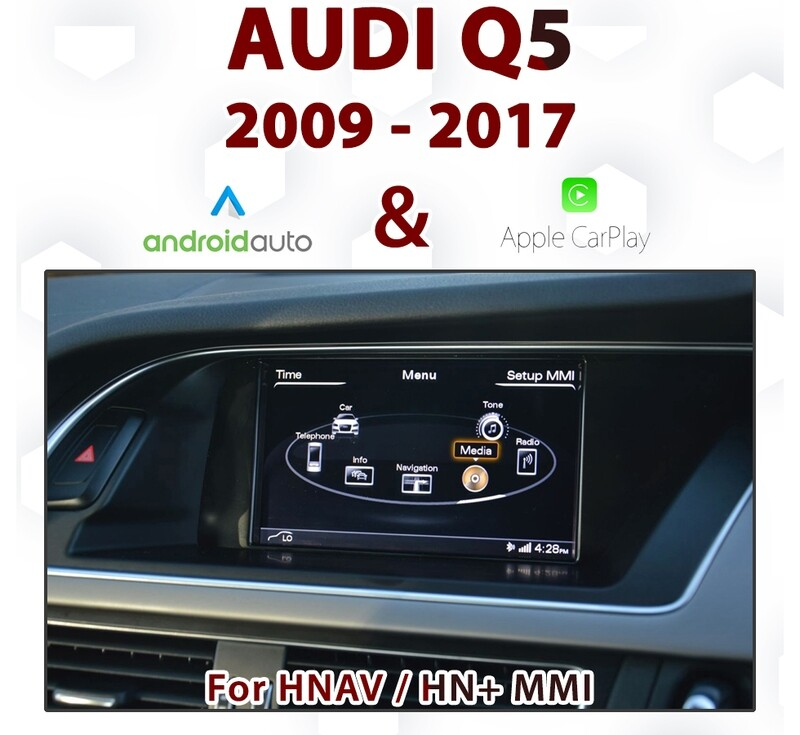[TOUCH] Android Auto & Apple CarPlay Integration - For Audi Q5  3G MMi Audio