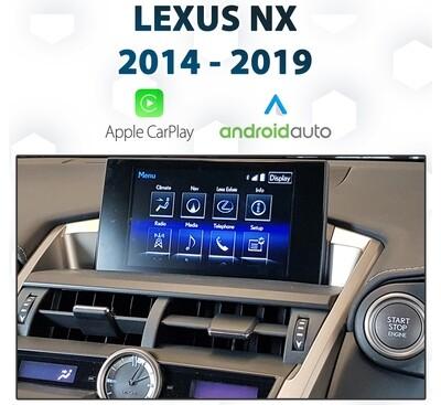 [2014+]Lexus NX - Apple CarPlay & Android Auto Integration