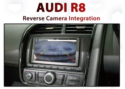 AUDI R8 / RNS-E integrated Reverse Camera Integration