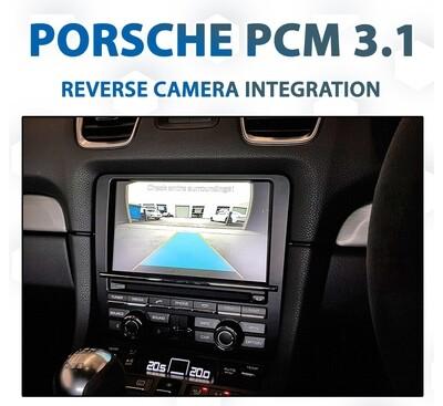 Porsche PCM3.1 - Reverse Camera Integration