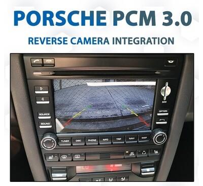 Porsche PCM3.0 / 2008 - 2009 Reverse Camera Integration