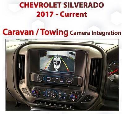 Chevrolet Silverado : MyLink Integrated Caravan / Towing Camera add on pack