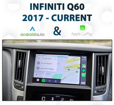 Infiniti Q50 / Q60 2016 - 2019 : Android Auto & Apple CarPlay Integration