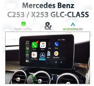 Mercedes Benz GLC-Class - Apple CarPlay & Android Auto Integration