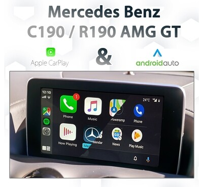 Mercedes Benz AMG GT C190 / R190 - Apple CarPlay & Android Auto Integration