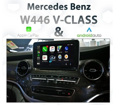 Mercedes Benz W446 V-Class - Apple CarPlay & Android Auto Integration