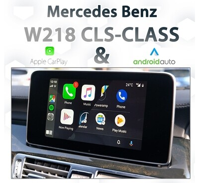 Mercedes Benz W218 CLS-Class - Apple CarPlay & Android Auto Integration