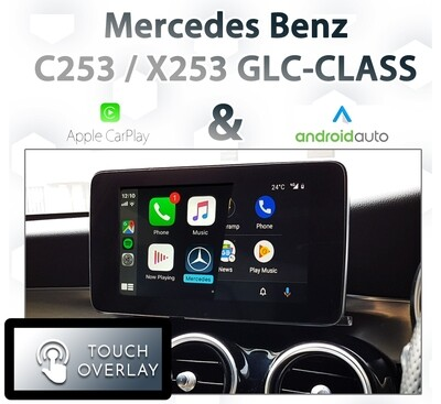 [NTG5 COMMAND] Mercedes Benz GLC-Class - Touch and Dial control Apple CarPlay & Android Auto Integration
