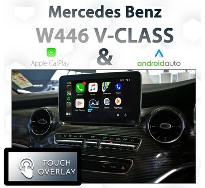 [NTG5 COMMAND] Mercedes Benz W446 V-Class - Touch and Dial control Apple CarPlay & Android Auto Integration