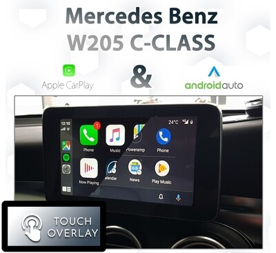 [NTG5 COMAND] Mercedes Benz W205 C-Class - Touch and Dial control Apple CarPlay & Android Auto Integration
