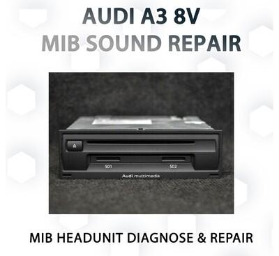 AUDI A3 8V HARMAN MIB Headunit repair service