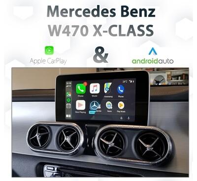 Mercedes Benz W470 X-Class - Apple CarPlay & Android Auto Integration