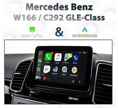 Mercedes Benz GLE-Class - Apple CarPlay & Android Auto Integration