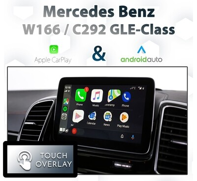 Mercedes Benz GLE-Class - Touch and Dial control Apple CarPlay & Android Auto Integration