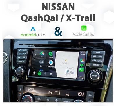 Nissan QashQai / X-Trail - Apple CarPlay / Android Auto Integration