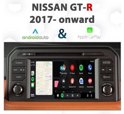 Nissan GT-R - Apple CarPlay & Android Auto Integration