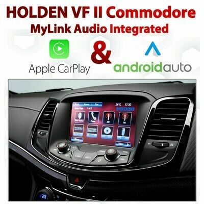 Holden VF Series II Commodore / Chevrolet SS - Apple CarPlay & Android Auto Integration