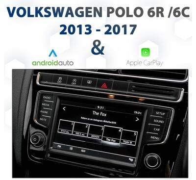 Volkswagen Polo 6C Apple CarPlay & Android Auto Integration